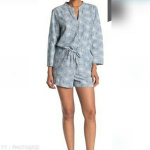 NWT J. Crew Zelda Pop over shorts romper